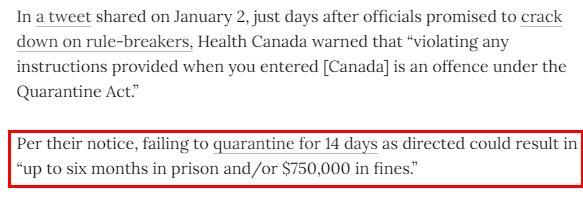 加拿大史上最严入境执法!违者面临6个月监禁75万罚款3