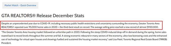 抓住低利率机会!TRREB权威发布大多地区12月地产报告4