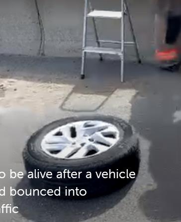 天降飞轮马路杀手!安省警方提醒市民这两个季节要特别注意交通安全8
