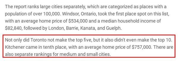 惊喜不惊喜?安省竟然还有这几个城市的房价比较便宜4