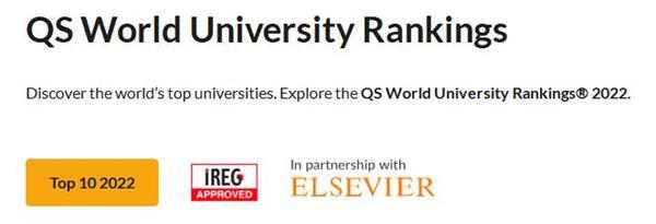 2022年世界大学排行榜出炉!2