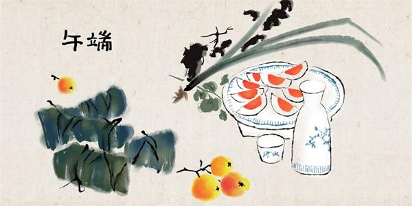 端午安康!挂艾草,绑五色丝线,阖家包粽,节日的仪式感不能少2