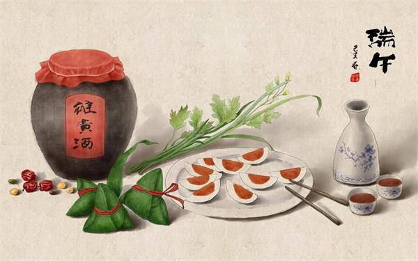 端午安康!挂艾草,绑五色丝线,阖家包粽,节日的仪式感不能少4