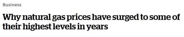 全球价格飙升!今年冬季加拿大人将面临更高的取暖费2