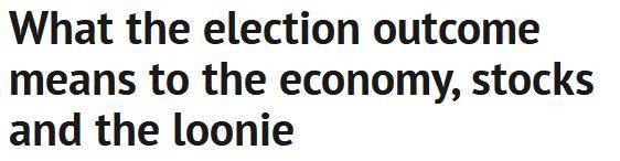 加元上涨!特鲁多获胜后民众更关注加拿大经济发展2