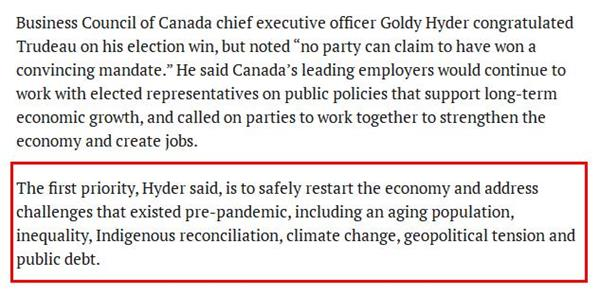 加元上涨!特鲁多获胜后民众更关注加拿大经济发展6