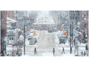 大雪导致33宗交通事故!周二还将持续降雪!加拿大冰雪道路驾车秘笈