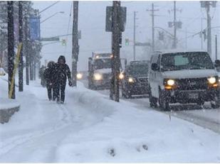 雨雪交加!当心,不及时铲雪将面临高额罚款